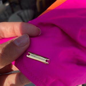 Victoria's Secret Swim - Victoria's Secret Color Block One-Piece Swimsuit